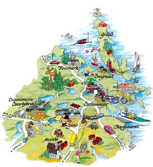 gräsö karta Hör inte Gräsö till Östhammars kommun? – Öregrundarbloggen varje dag gräsö karta