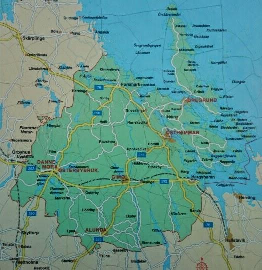 östhammars kommun karta Kartkunskaper hos fullmäktigeledamöter i Östhammars kommun  östhammars kommun karta