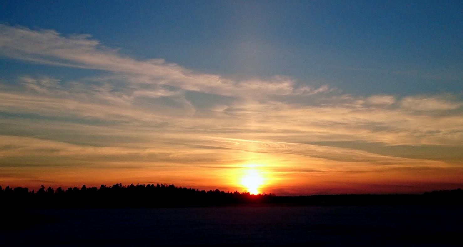 solnedgång stockholm december 12