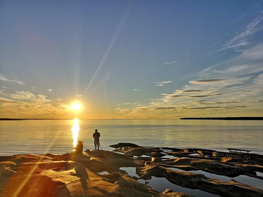 Solnedgång Öregrund 1