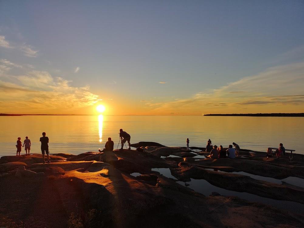 Solnedgång Öregrund 2
